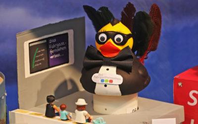 Die Fahrgastfernsehen-Ente – 10. NKR Entenrennen 2019