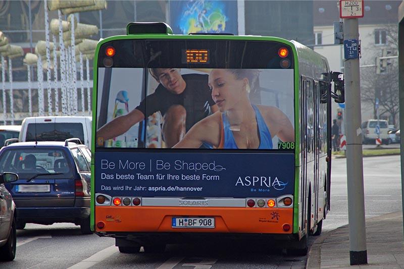 Bus XXL Heckfläche